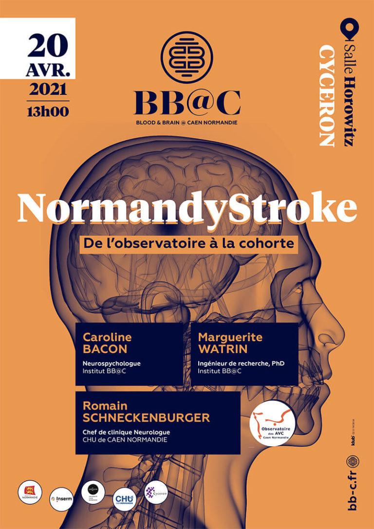NormandyStroke : de l'observatoire à la cohorte